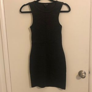 Dark Gray Top Shop Dress
